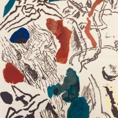 "Jean Bazaine, original Lithograph 1953 ""DM0355"""