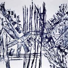 Jean-Paul Riopelle DM11232d Original Lithograph DLM 1979