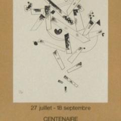 """Kandinsky """"Centenair"""" Poster Lithograph"""