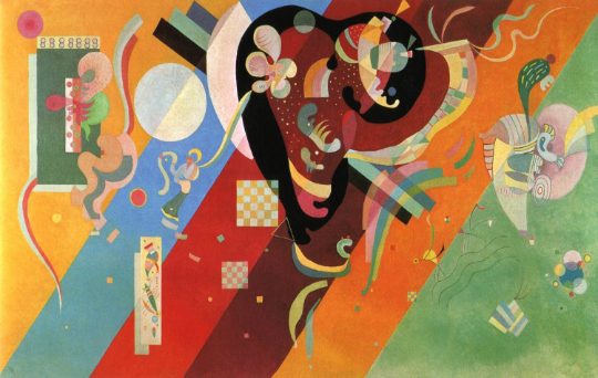 """Kandinsky""""composition 9"""" L.E Numbered Giclee"""