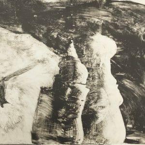 Marco Del Re, Original Lithograph N14-2d, Noise 1988