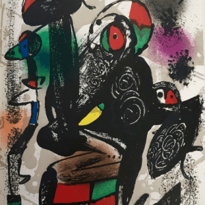 Miro Lithographs Vol 4-3 printed by Mourlot 1981