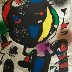 Joan Miro, Original Lithograph V4-5, Maeght 1981