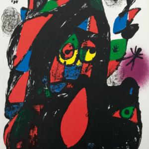 Joan Mirom Original Lithograph, vol 4-c, Mourlot 1981