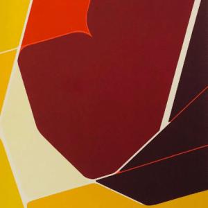 "Pablo Palazuelo Lithograph ""DM01207F"" DLM cover 1974"