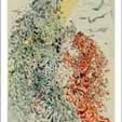 Salvador Dali,   Paradise 11,  Woodcut,  Divine Comedy