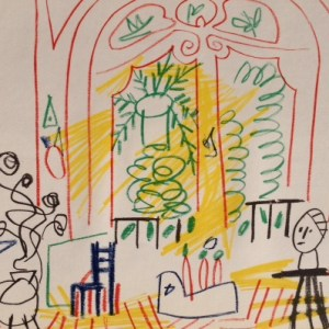 Picasso Sketchbook Lithograph No 2, dated 19/11/1955
