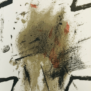 Tapies Antoni Original lithograph DM04175 Maeght 1968