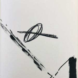 Tapies Original lithograph, DM07175, DLM 1968