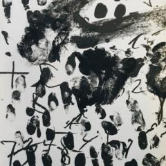 Tapies Antoni Original lithograph DM09175 Maeght 1968