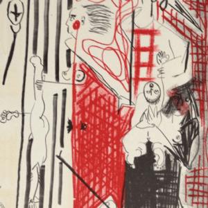Vincent Corpet, Original Lithograph N6-1B, Noise 1988