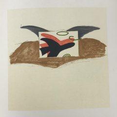 """Braque Lithograph """"affiche pour lettera amorosa""""1963 Mourlot"""