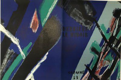 Jean Bazaine lithograph DLM 55
