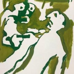 "Francisco Bores ""18"" Original Lithograph 1962 Mourlot"