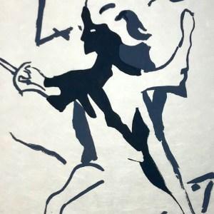 "Francisco Bores ""3"" Original Lithograph 1962 Mourlot"