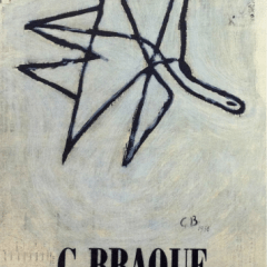 "Georges Braque 8 ""Braque Maeght gallery"" Art in posters Mid-century Modern art French painter"