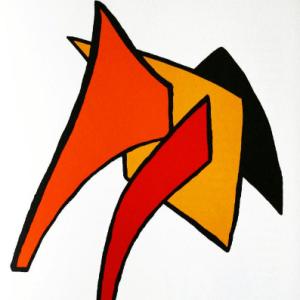Calder, Original Lithograph, DM03141, Derriere le Miroir 1963