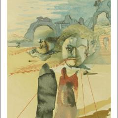 Salvador Dali, Purgatory 20, Woodcut, Divine Comedy