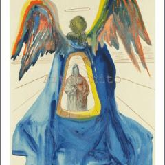 Salvador Dali, Purgatory 33, Woodcut, Divine Comedy