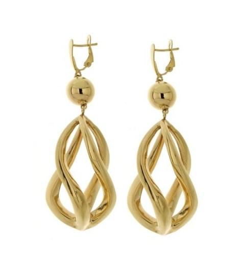 Gracy Earrings Cage Silver sterling