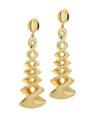 gracy earrings twist silver sterling