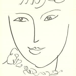 Henri Matisse, Poster La pampadour, Oeuvre Grave