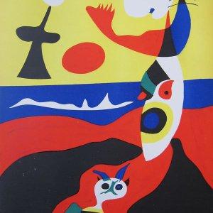 Joan Miro, Lithograph Summer, Verve Revue 1938, Mourlot