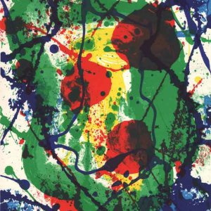 Sam Francis, Original Lithograph N10-1, 1988