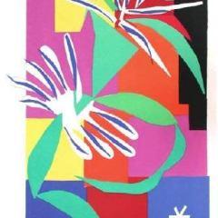 Henri Matisse Heliogravure Danseuse creole 1984