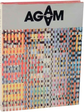 Book Homage to Agam, XX Siecle, contains 2 Lithographs