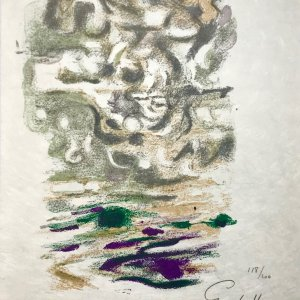 Alexandre Garbell Original Lithograph Signed & numbered 1962