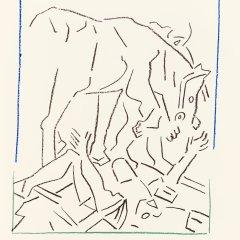 Pierre Buraglio, Lithographs N10-2 Caravage 1988,  Contemporary, Modern