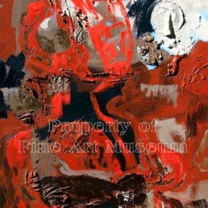Alberto Schiuma, Espera Oil Painting on Canvas 1999