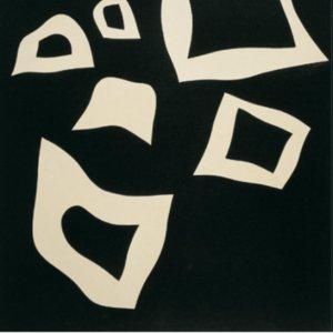 Jean Arp, Poster Constellation 7 blanches sur noir