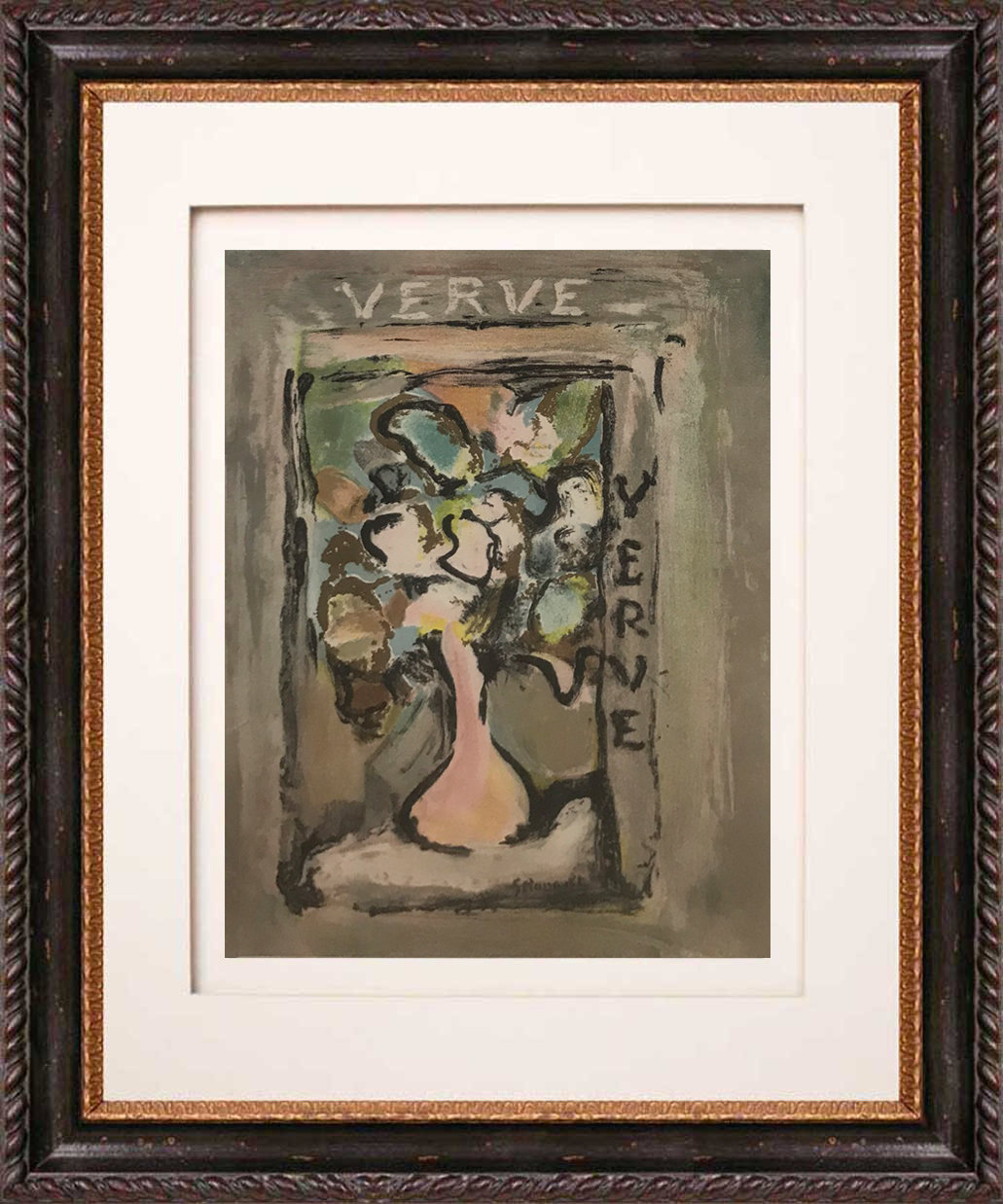Georges Rouault Lithograph, Revue Verve Artistic 1938