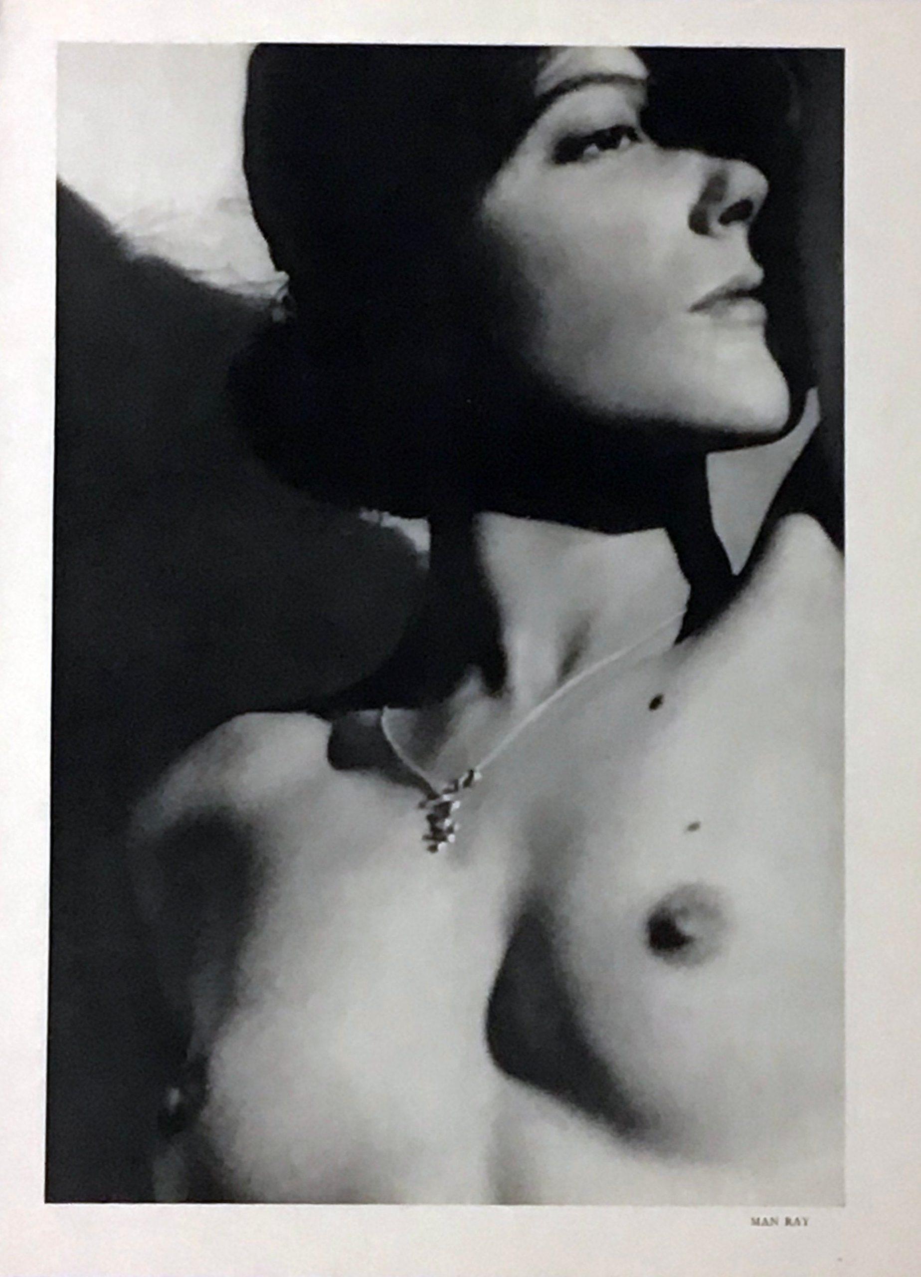 Man Ray Phhotogravure Nude 1, Verve 1939, Photography