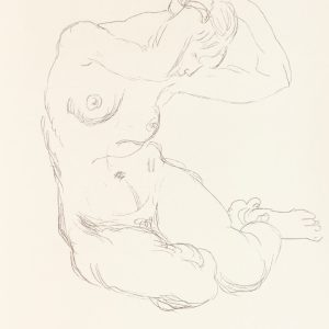 Henri Matisse Lithograph Nu 1918, by Succession 1994