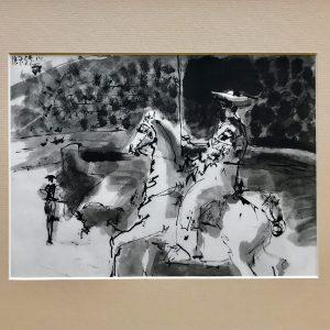 Picasso, Toreros 4, The Picador's Entrance 1961