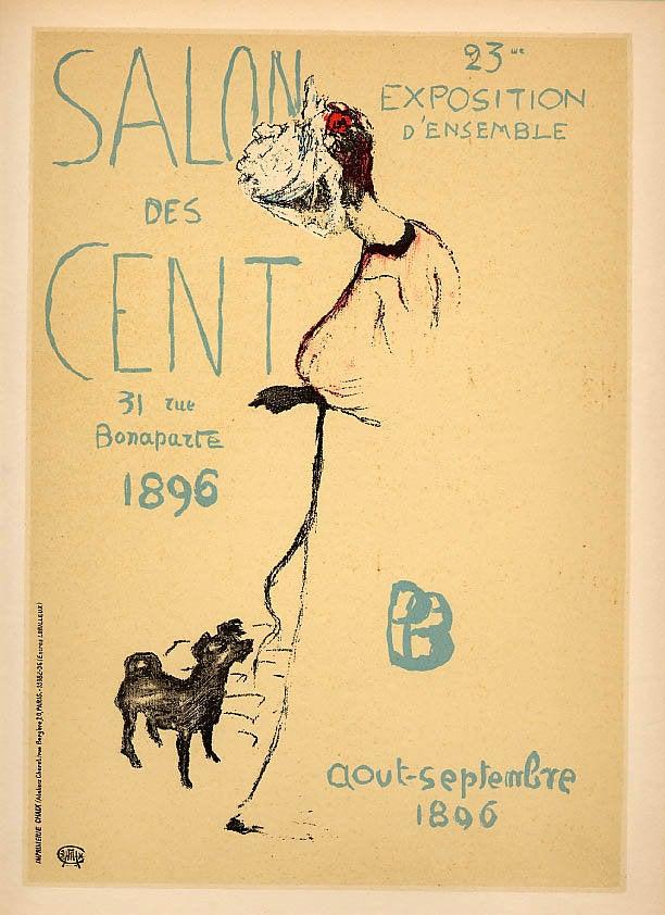 Bonnard Lithograph 87, Salon des Cent 1952
