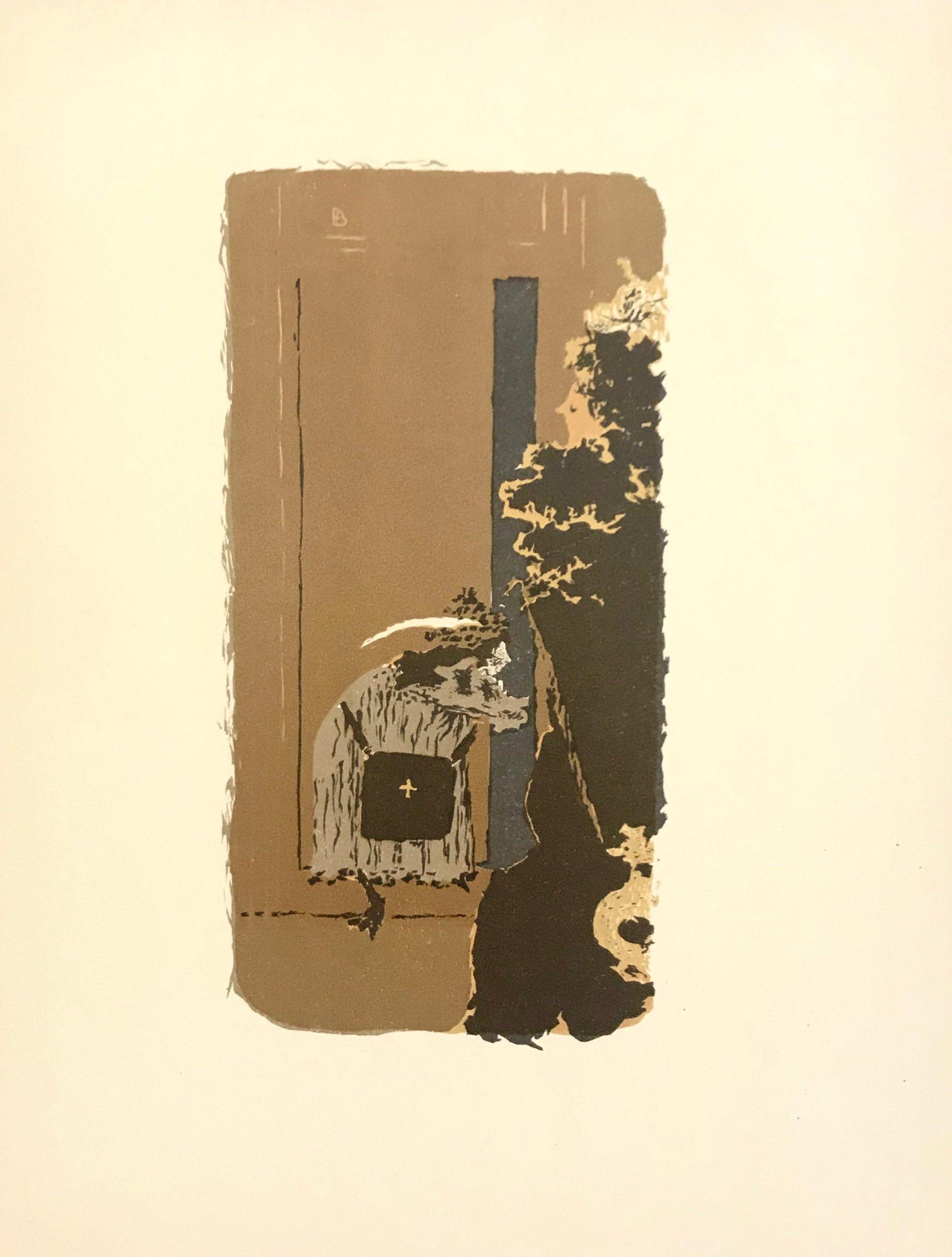 Bonnard Lithograph 46, Dans la rue 1952