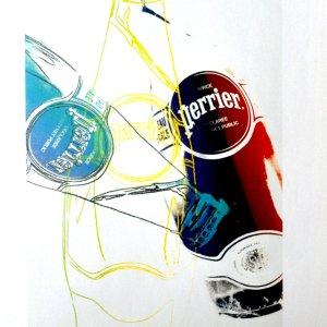 Andy Warhol Perrier 8, Pop Art 1999