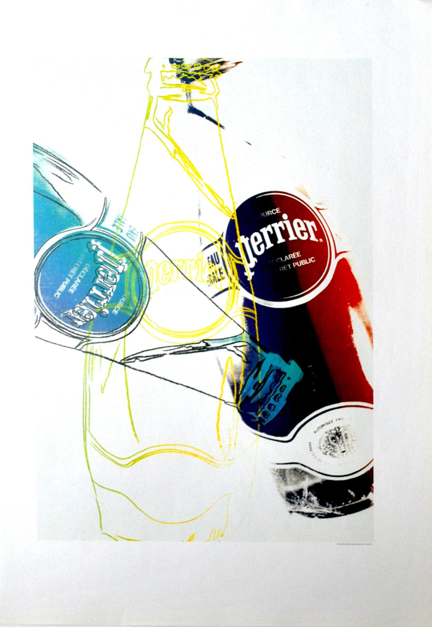 Andy Warhol Perrier 8, Pop Art, 1999