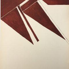 Pablo Palazuelo, Original Lithograph, DM00373, Derriere le Miroir 1955