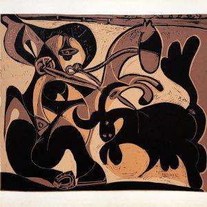 Pablo Picasso 8, Linogravures, Pique, Cercle d'art 1962