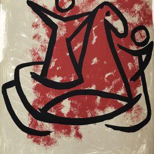 Marino Marini Signed Original Lithograph Frontispiece, Numbered