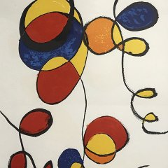 Alexander Calder, Lithograph signed in plate 1970