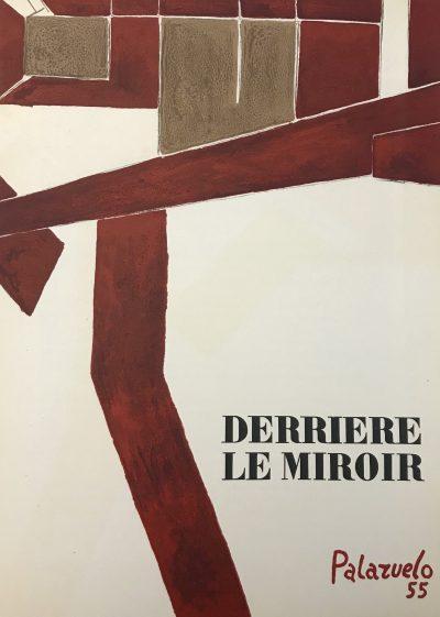 Pablo Palazuelo, Original Lithograph, DM0173, Derriere le Miroir 1955