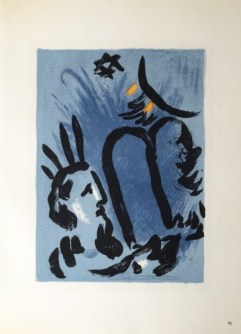 Marc Chagall Lithographs, 1960 Sorlier, Mourlot