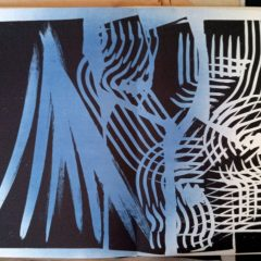 Hans Hartung , Pencil Signed & numbered Original Lithograph 14, Farandole  1971, Abstract