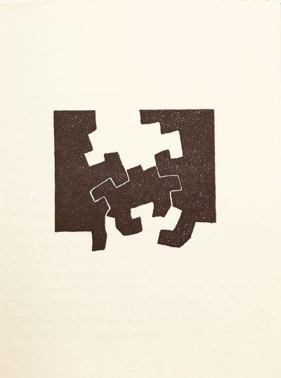 Eduardo Chillida Lithograph 4, Maeght Editeur 1975